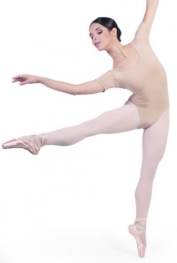 Lichaam dansen met halve mouwen B1022