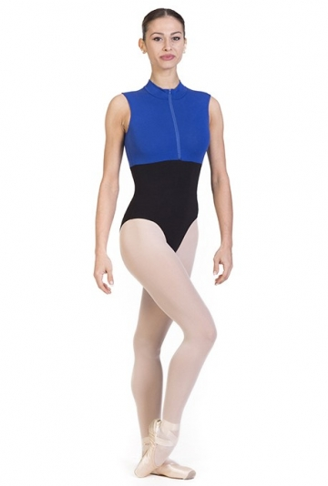 Body danza con collo alto B7012 -