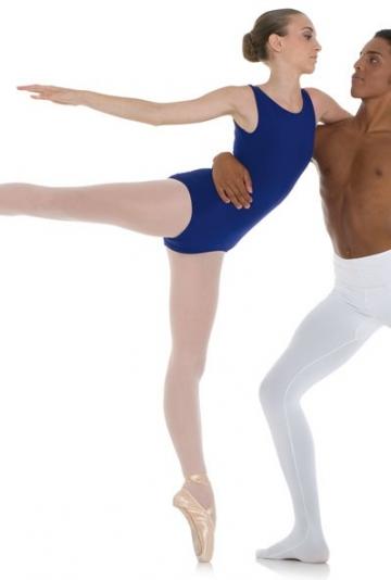 Body danza classica con scollatura profonda -