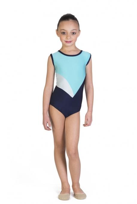 Body per ginnastica artistica di lycra -
