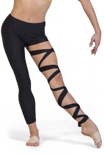 Legging moderne dans met lace-up C2140P