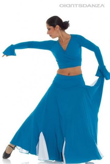De rokken van de flamenco two-tone FL 2026